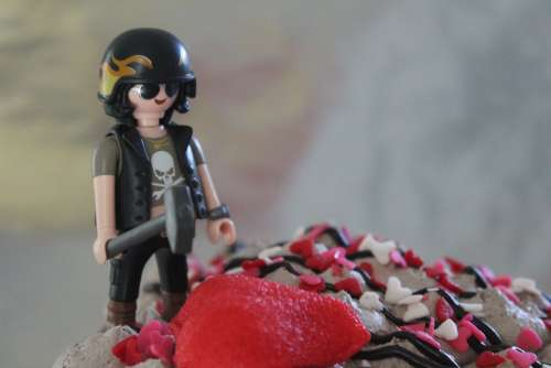 Sweet Cake Lego Snowman Helmet Hammer Toys