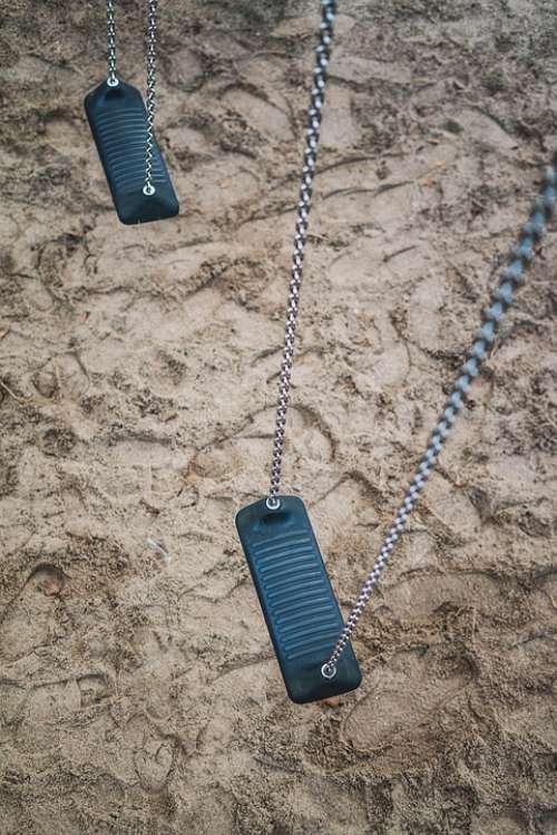 Swing Playground Rock Fun Swing Device Leisure