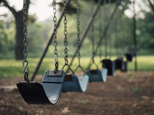 Swing Playground Swinging Toy Fun Park