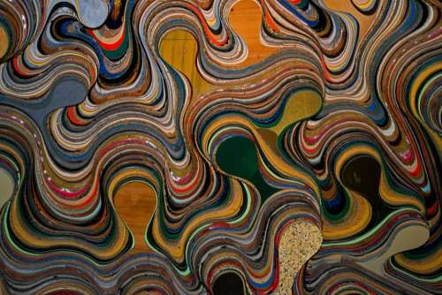 Swirl Colour Design Color Texture Pattern Wall
