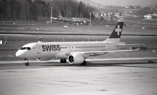 Swiss Switzerland Bomber Aircraft Flight Zurich