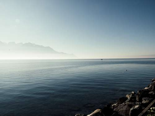 Switzerland Lake Landscape Outlook