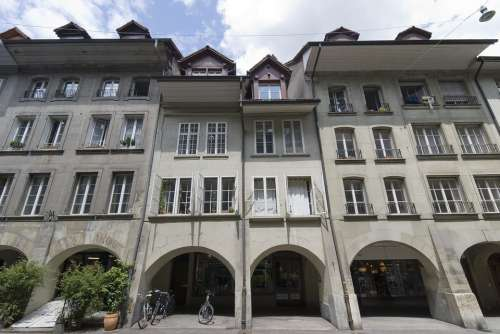 Switzerland Building Architecture Wide Angle Bern