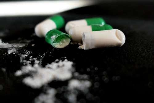 Tablets Drug Encapsulate Medical Pills Drugs