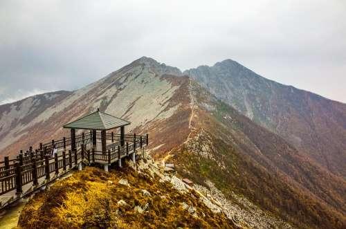 Taibaishan The Scenery China Mountain Landscape
