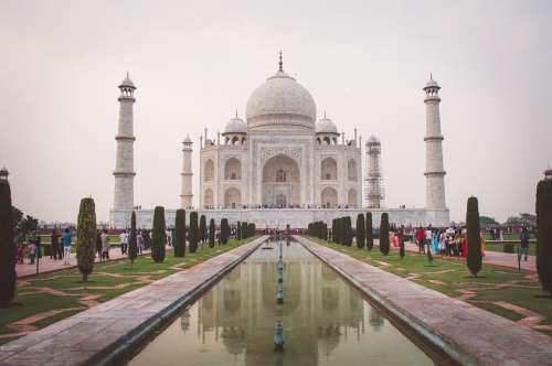 Taj Mahal India Monument Architecture Symbol