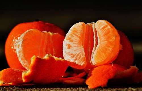 Tangerines Fruit Citrus Fruit Healthy Vitamins Eat