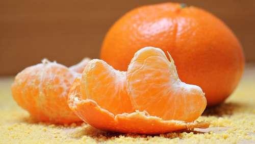 Tangerines Fruit Clementines Citrus Fruit Vitamins