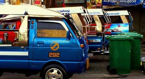 Taxi Van Bus Transport Car Transportation Vehicle