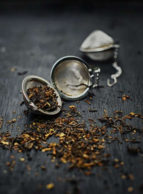 Tea Tea Bag Tea Leaves Dried Herb Mockup