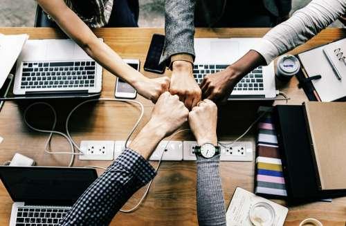 Team Team Building Success Computer Business