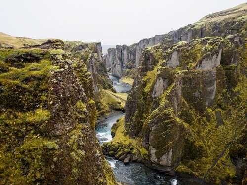 Tectonic Plates Canyon Rift Iceland Plate Tectonics