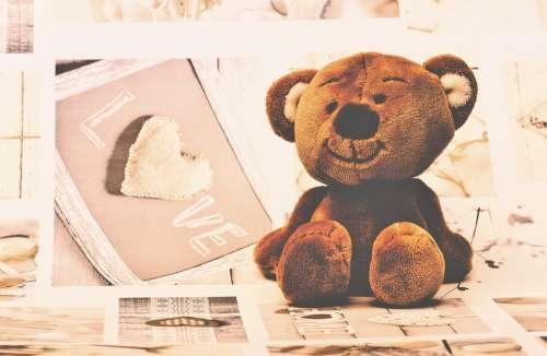 Teddy Bear Teddy Soft Toys Furry Teddy Bear Cute