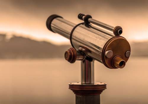 Telescope By Looking View Optics Vision Overview
