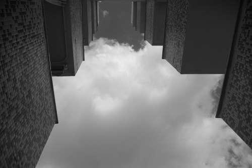 Terraces Sky Balconies Housing Residential Look Up