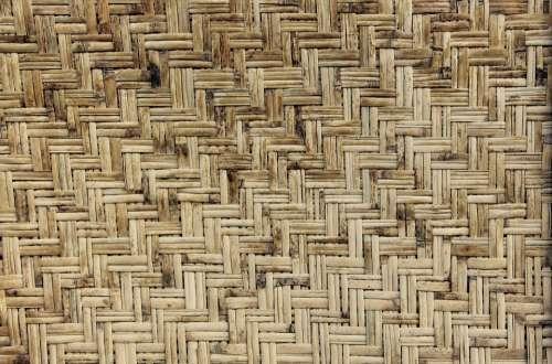 Texture Wood Wicker Rattan Fiber Material