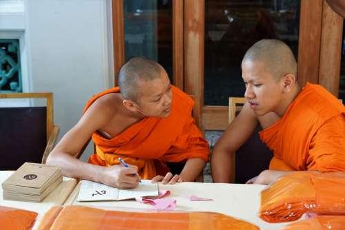 Thailand Monastery Religion Buddha Bangkok Temple