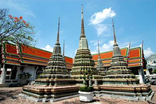 Thailand Temple Buddhism Religion Tourism Wat