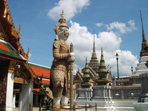 Thailand Royal Palace Statue Garden