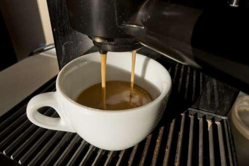 The Drink Coffee Aroma Coffee Maker Teacup Fresh