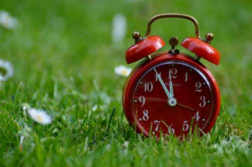 The Eleventh Hour Disaster Alarm Clock Clock