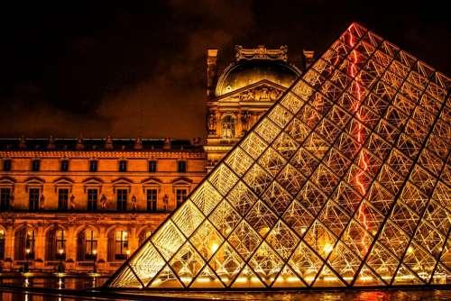 The Louvre Paris France Architecture Art Gallery