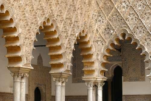 The Real Alcázar Palace Royal Sevilla Andalusia