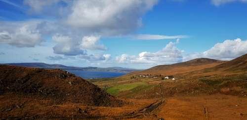 The Ring Of Kerry Ireland Nature Landscape Coast