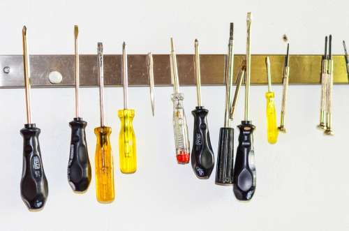 The Screwdriver Tool A List Of