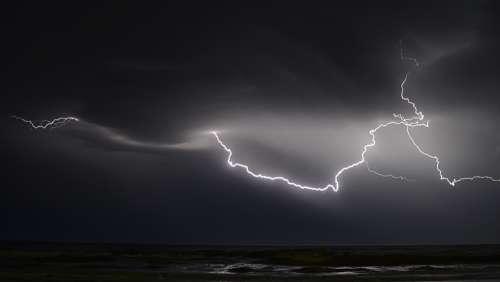 Thunderbolt Lightning Thunderstorm Weather Storm