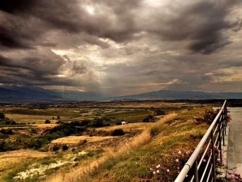 Thunderstorm Nature Clouds Melnik