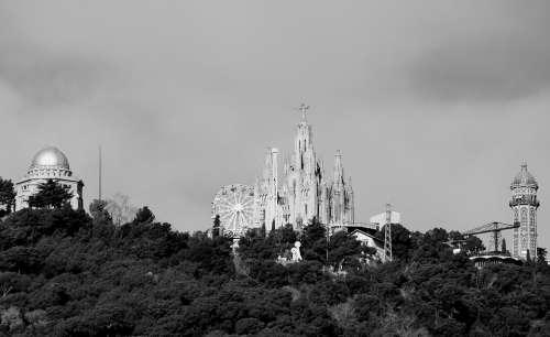 Tibidabo Catalonia Tourism Barcelona Architecture