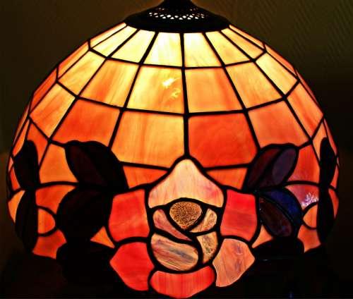 Tiffany Glass Window Stained Glass Tiffany Art Lamp