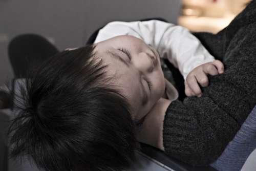 Toddler Boy Sleeping Child Innocent Life Kid