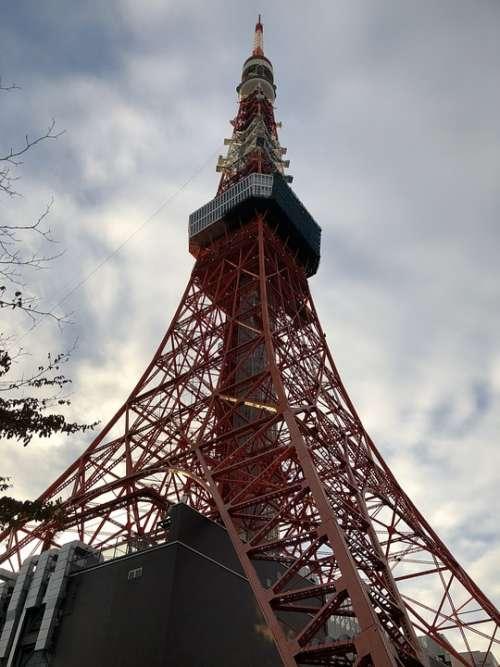 Tokyo Tower Japan Tokyo Travel Tourism