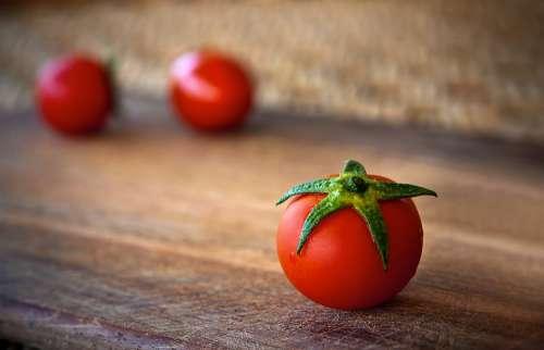 Tomato Food Eating Red Vegetable Fresh Food Diet