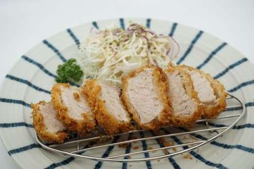 Tonkatsu Soup Pork Cutlet Pork Tenderloin