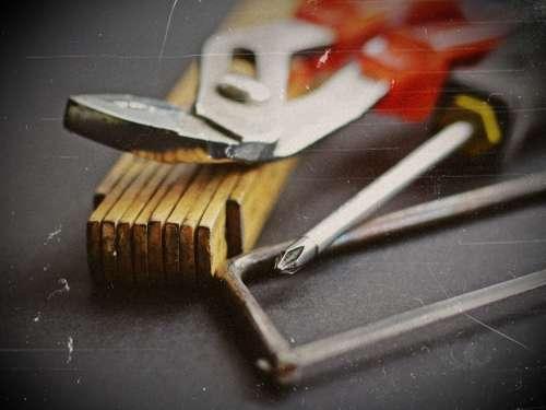 Tool Hammer Saw Workshop Screwdriver Work Craft
