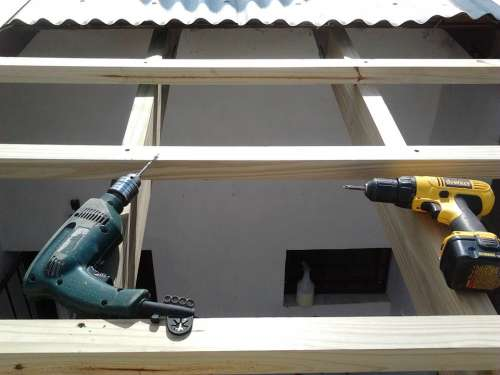Tools Ceiling Work