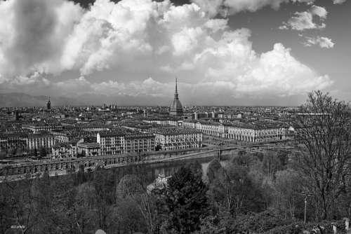 Torino Landscape Mole Piemonte
