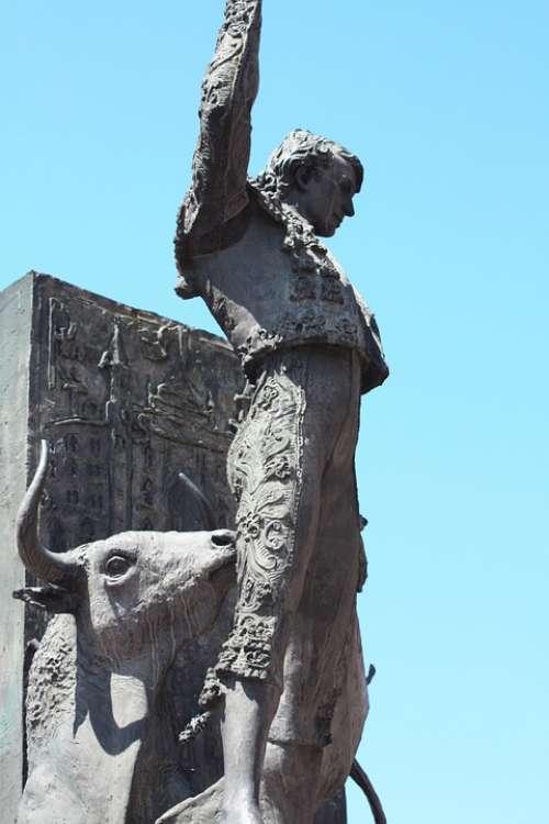 Torrero Madrid Spain Bullfights Tradition