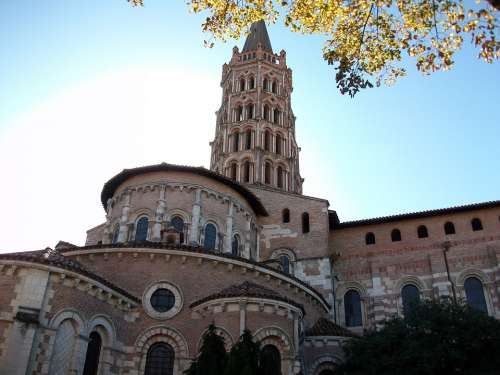 Toulouse Church Bell Tower Heritage