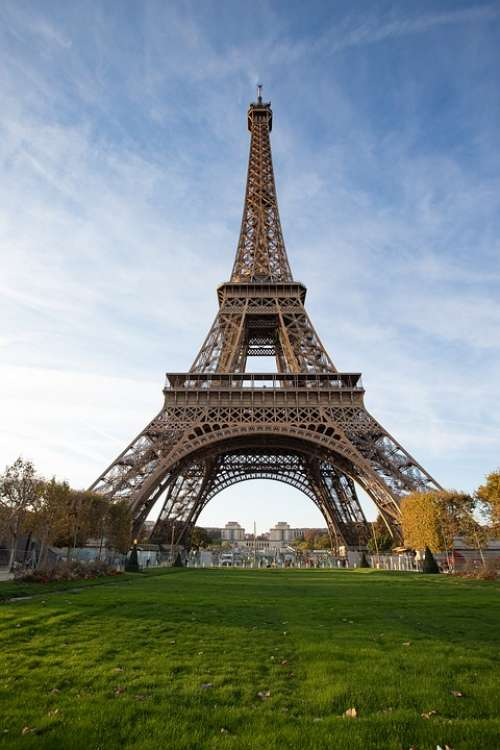 Tower Paris France Lawn