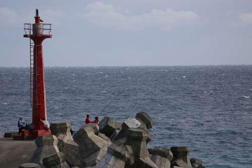 Tower Coast Water Landscape Sea Milestone Taiwan