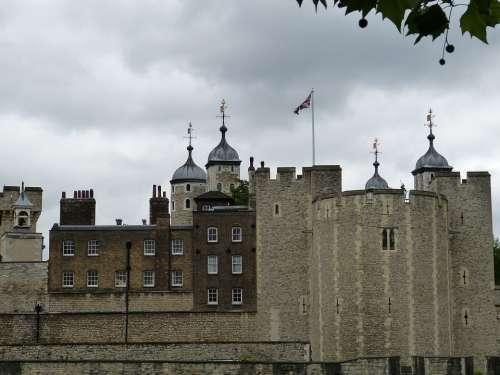 Tower Castle England London United Kingdom City