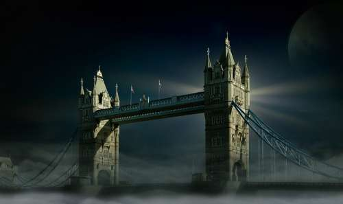 Tower Bridge London Bridge Historically England