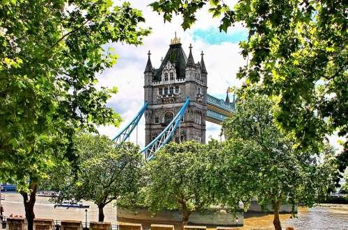 Tower Bridge London Bridge United Kingdom Landmark