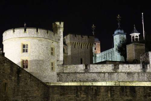 Tower Of London Historic Building England Uk