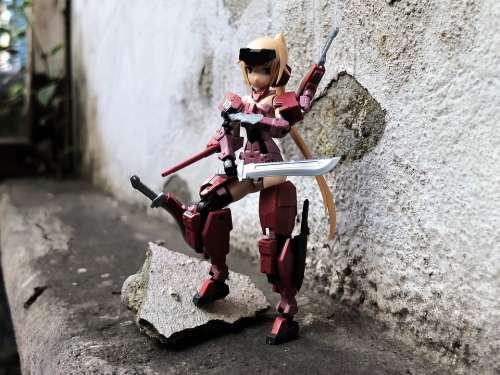 Toy Figurine Action Figure Kotobukiya Model Kit