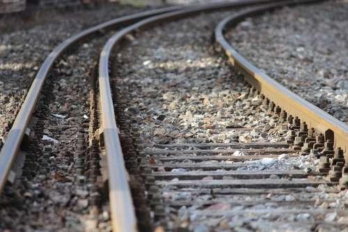 Tracks Perspective Railway Mood Railway Tracks